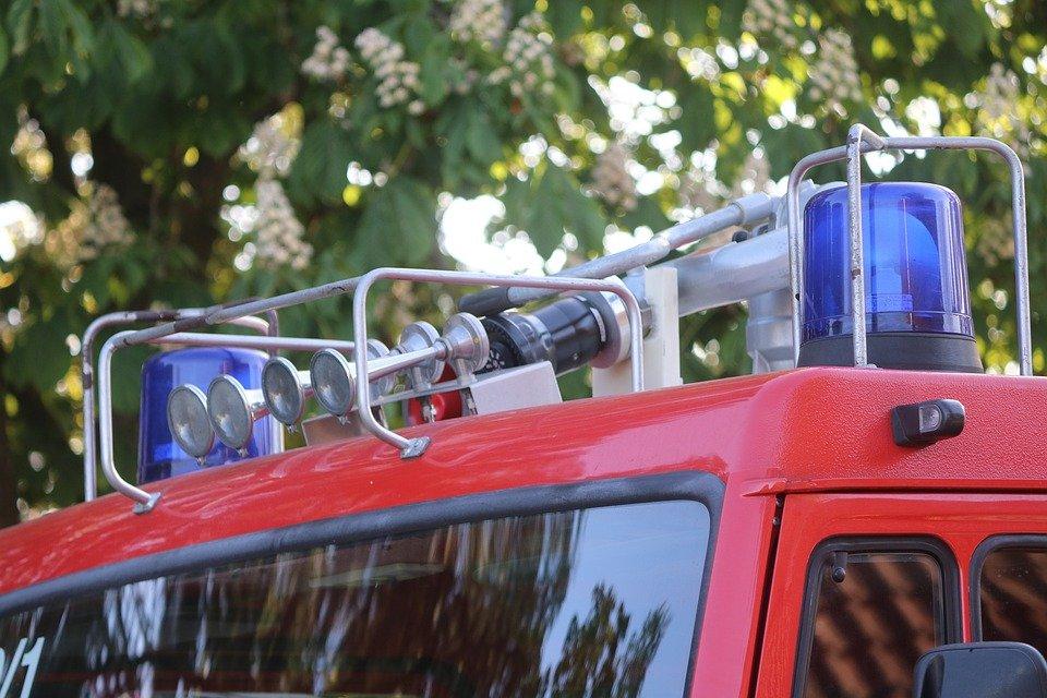 Un voiture de pompier   Photo : Pixabay