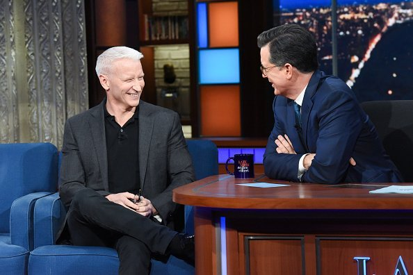 The Late Show with Stephen Colbert and guest Anderson Cooper | Photo: Getty Images