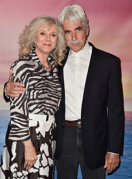 Blythe Danner and Sam Elliott at The London Screening Room on May 7, 2015 in West Hollywood, California | Photo: Getty Images