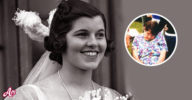 A picture of Rosemary Kennedy before and after her lobotomy   Photo: twitter.com/DailyMail  Getty Images