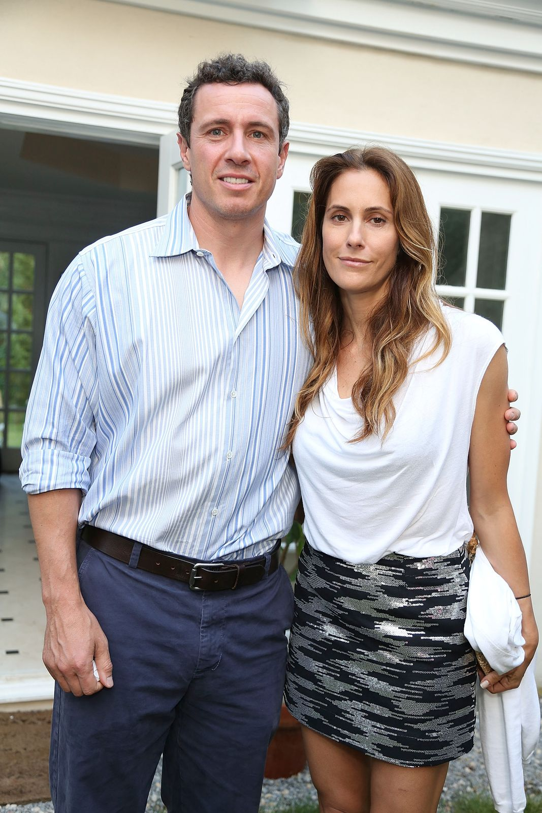 """Chrisand Christina Cuomo atthe after-party for a Hamptons screening of """"The Way, Way Back"""" on June 29, 2013, in East Hampton, New York 