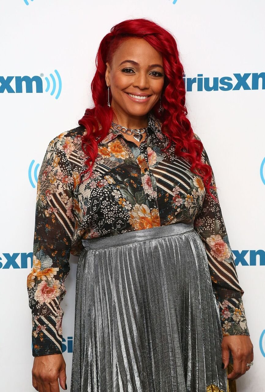 Kim Fields visits the SiriusXM Studios in October 2017. | Photo: Getty Images