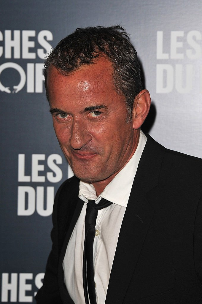 Christophe Dechavanne le 18 octobre 2011 à Paris. l Source : Getty Images