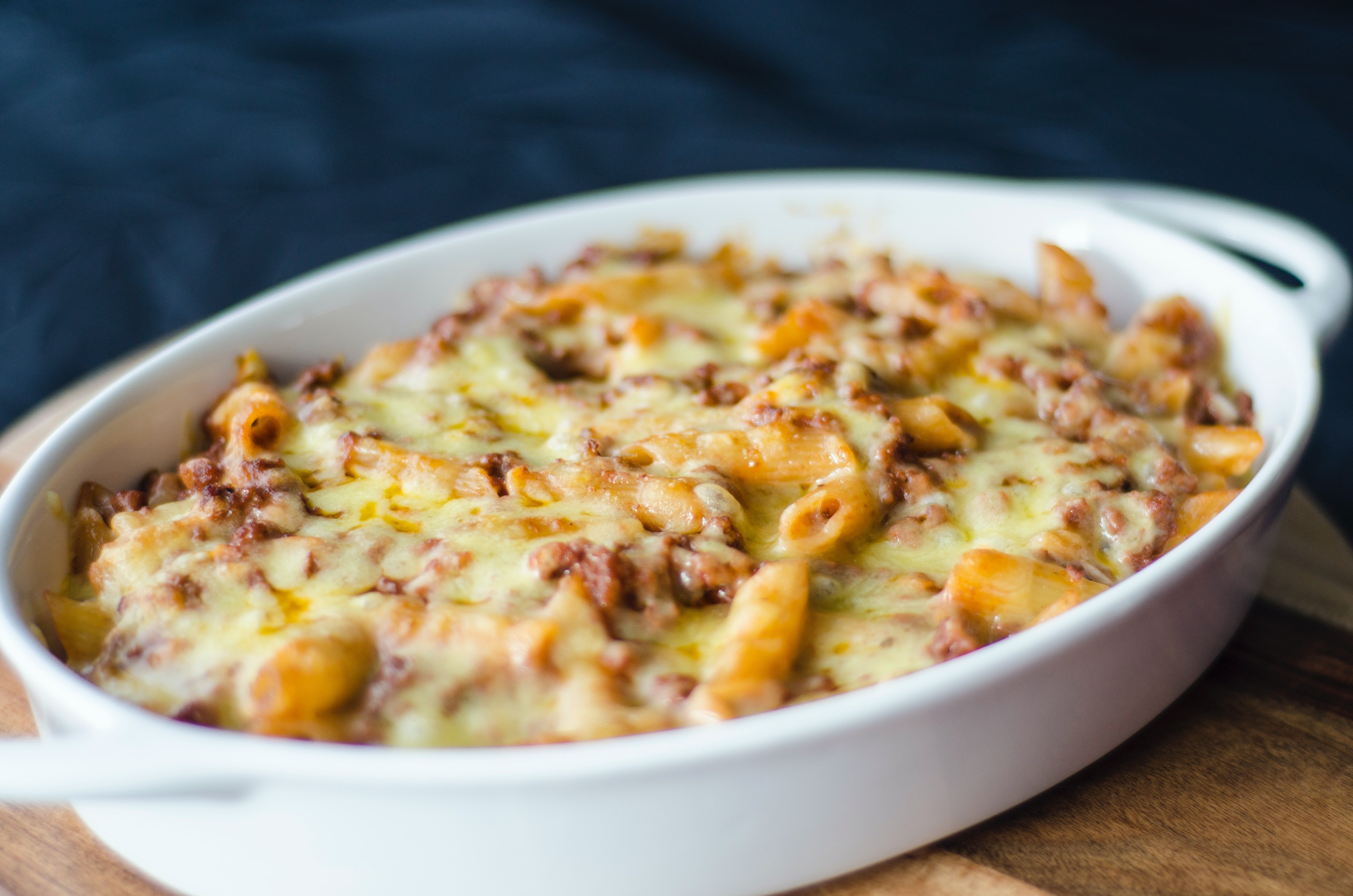 Pictured - a close-up photo of baked mac | Source: Pexels