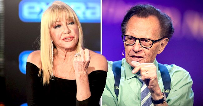 ET Online: Suzanne Somers Opens up about Her Memories of Late TV Broadcasting Legend Larry King