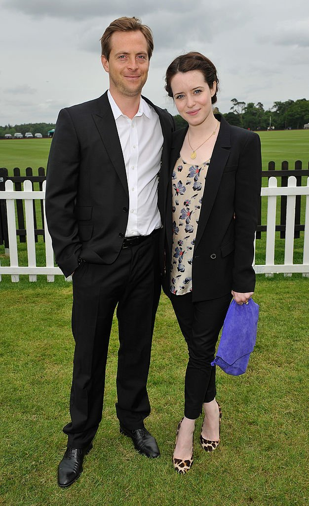 Stephen Campbell Moore and Claire Foy attends the Cartier Queen's Cup Polo Day 2013 | Getty Images