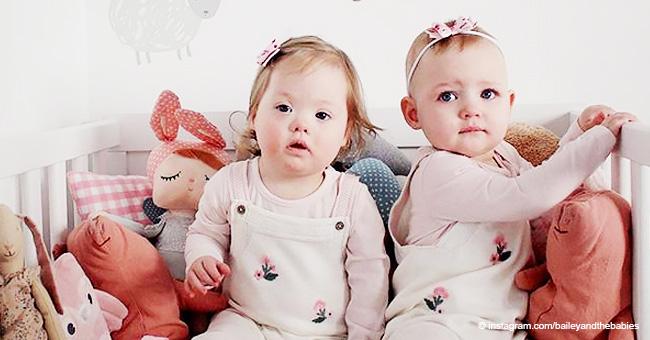 10 jolies photos de jumeaux, l'un d'eux a le syndrome de Down