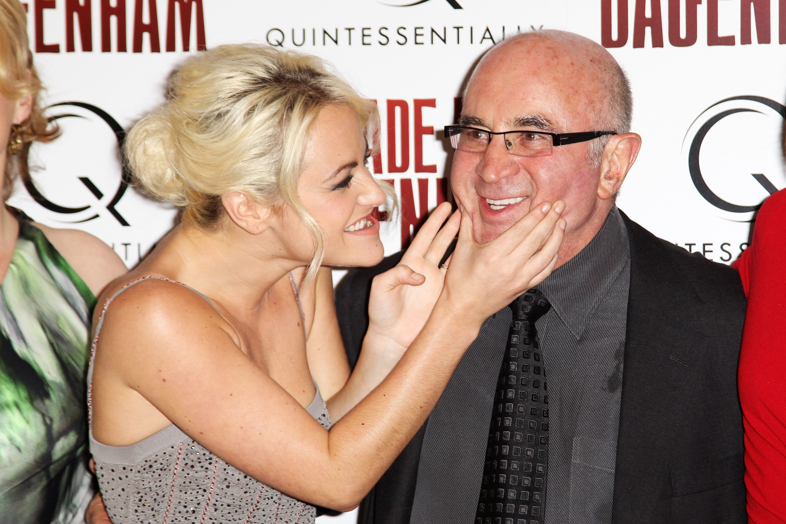 Jaime Winstone and Bob Hoskins attend the world premiere of Made In Dagenham held at The Odeon Leicester Square  | Getty Images