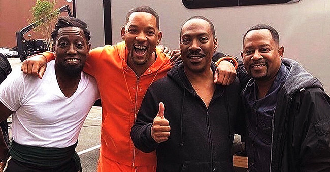 Eddie Murphy, Will Smith, Wesley Snipes & Martin Lawrence Pose Together for Legendary Photos