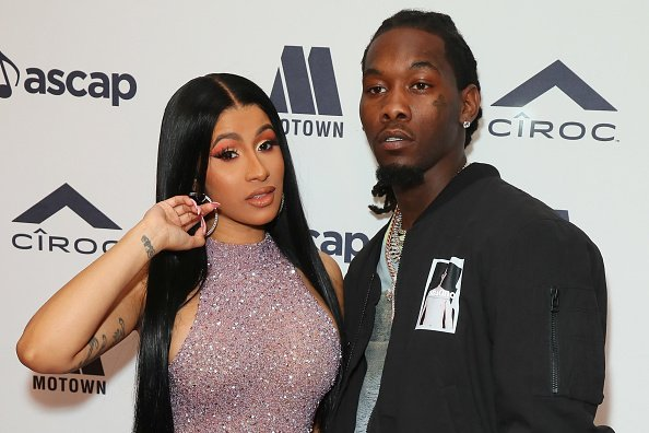 Cardi B and Offset attens 2019 ASCAP Rhythm & Soul Music Awards at the Beverly Wilshire Four Seasons Hotel | Photo: Getty Images