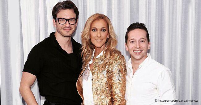 """Céline Dion : son ami proche, Pepe Munoz, a partagé une photo avec la """"golden girl"""" portant une tenue incroyable"""