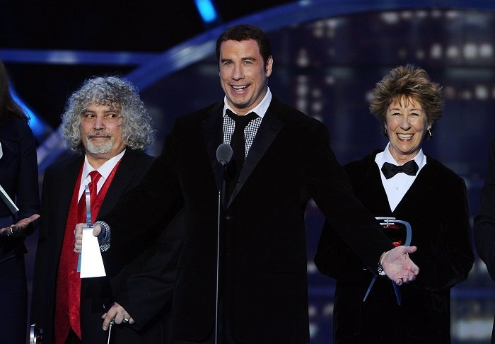 Ellen Travolta and brother John Travolta l Picture: Getty Images