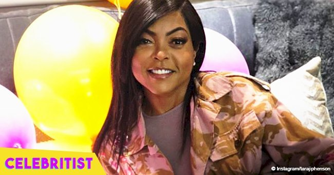 Taraji P. Henson shares passionate kiss with her shirtless fiance in recent photo