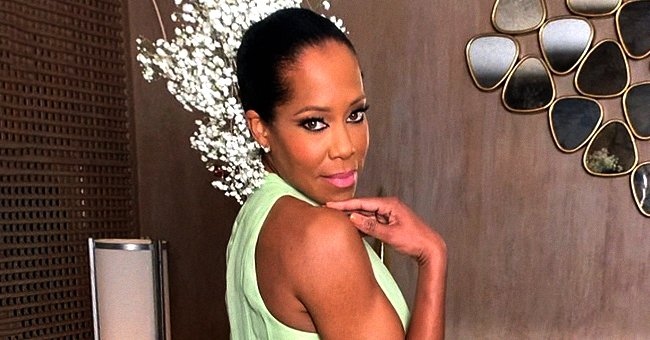'227' Actress Regina King Dons a White Gucci Suit with a Plaid Shirt — See Her Chic Look