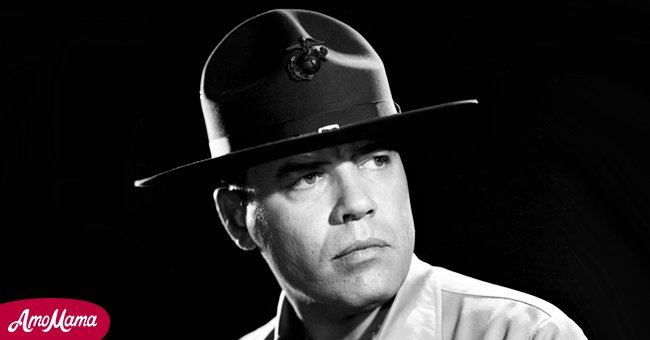 """A picture of late actor, Frank Sutton on """"Gomer Pyle"""" 