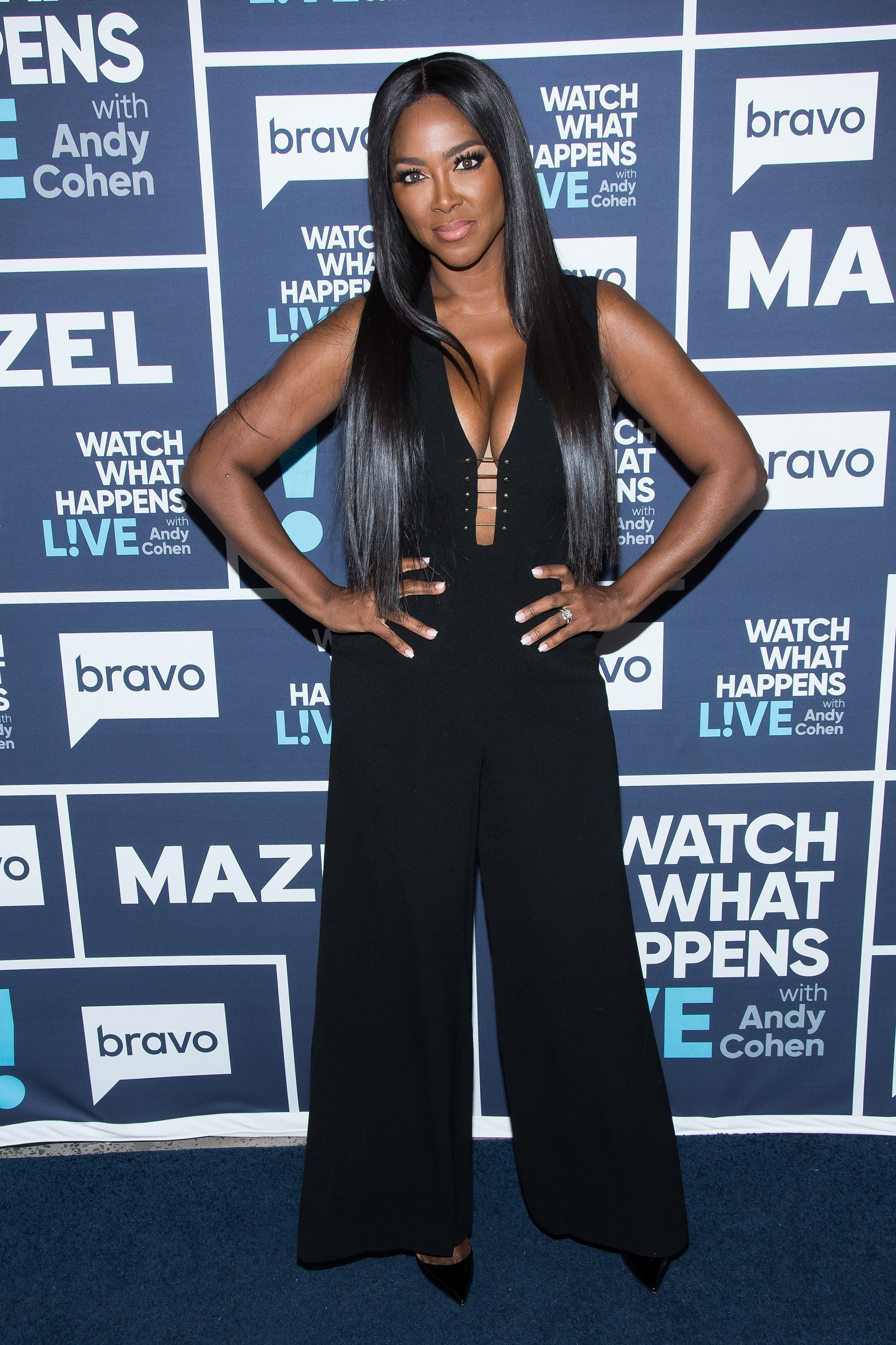 Kenya Moore on the Red Carpet of Watch What Happens Live With Andy Cohen - Season 14| Photo: Getty Images