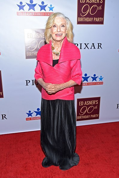 Actor Cloris Leachman attends Ed Asner's 90th Birthday Party and Celebrity Roast at The Roosevelt Hotel on November 03, 2019 in Hollywood | Photo: Getty Images