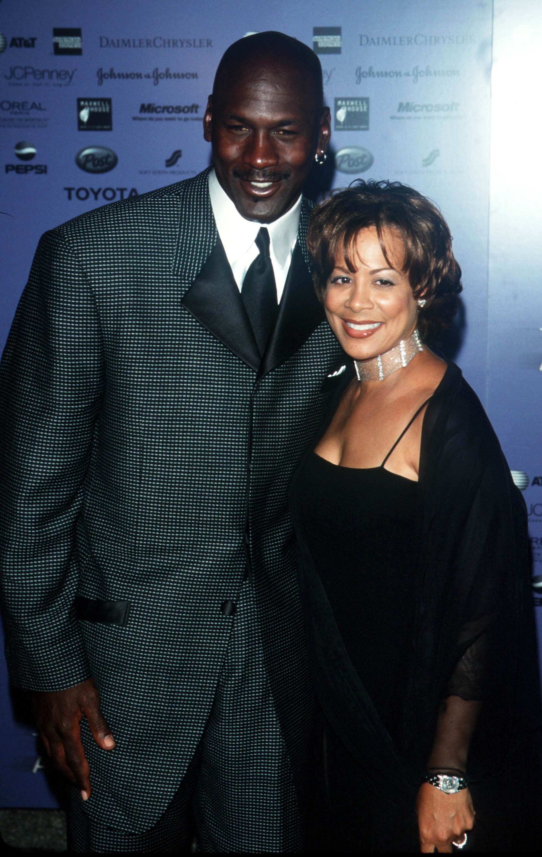 Michael and Juanita Jordan. I Image: Getty Images.