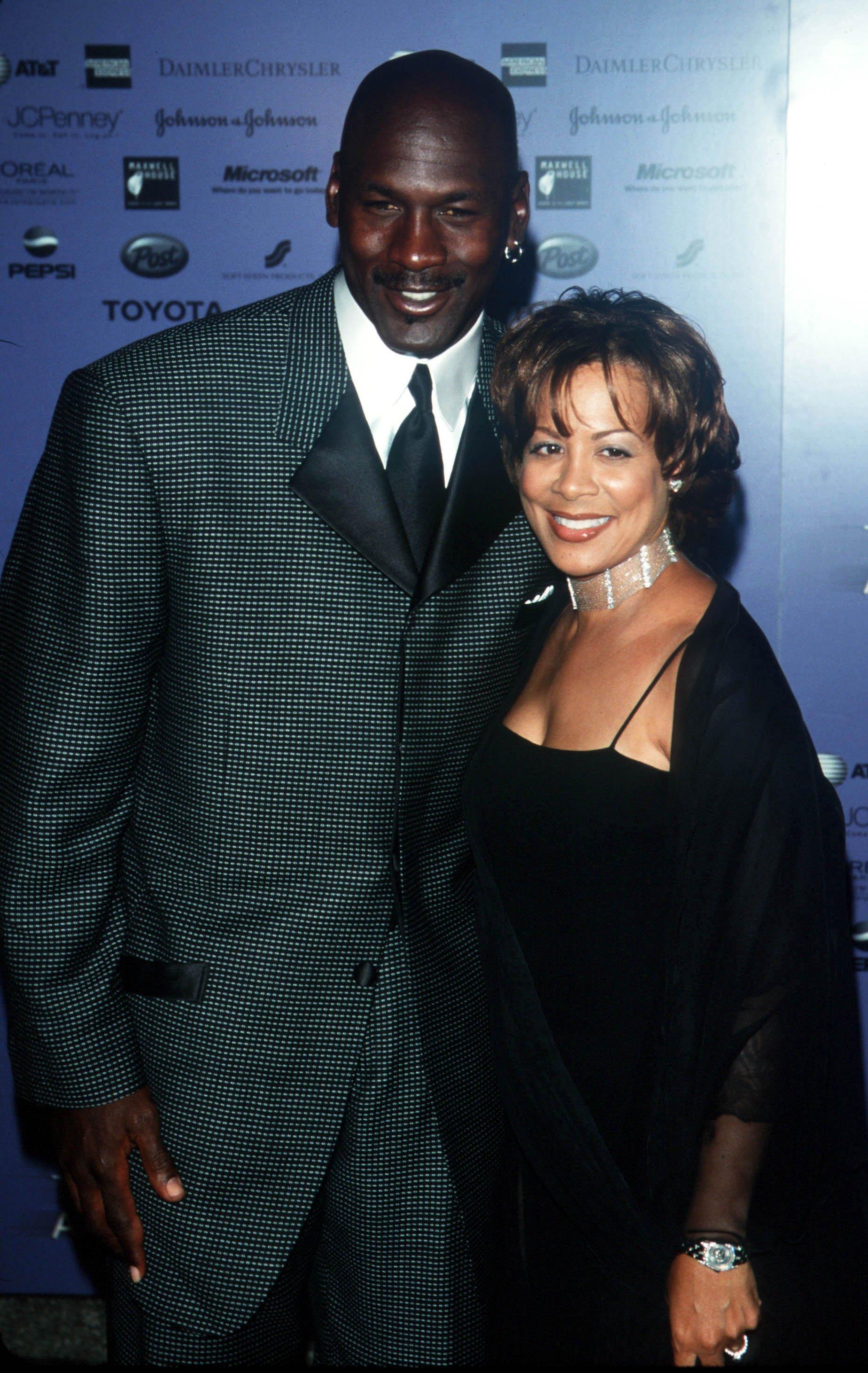 Michael and Juanita Jordan. I Image: Getty Images.
