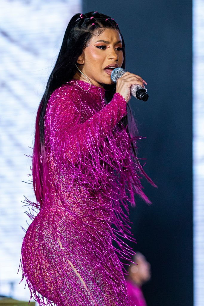 Cardi Bperforms on day 1 of Music Midtown at Piedmont Park | Photo: Getty Images