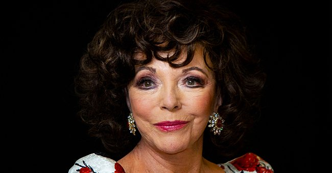 Check Out Joan Collins' Stylish Throwback Picture Wearing a Romper and Knee-High Boots