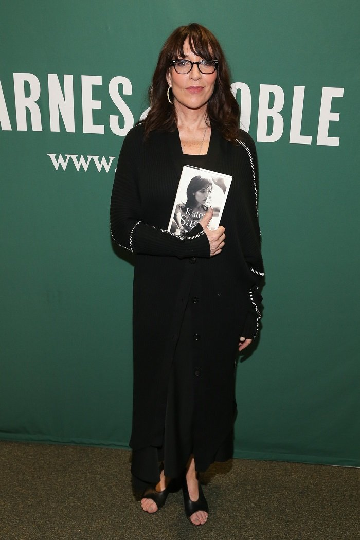 "Katey Sagal signs copies of her new book ""Grace Notes: My Recollections"" at Barnes & Noble Union Square on March 30, 2017 in New York City. I Image: Getty Images"