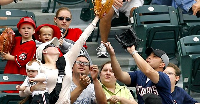 Mom of 3 Recalls Viral Moment Where She Caught a Ball at a Baseball Game with a Baby in Her Arm