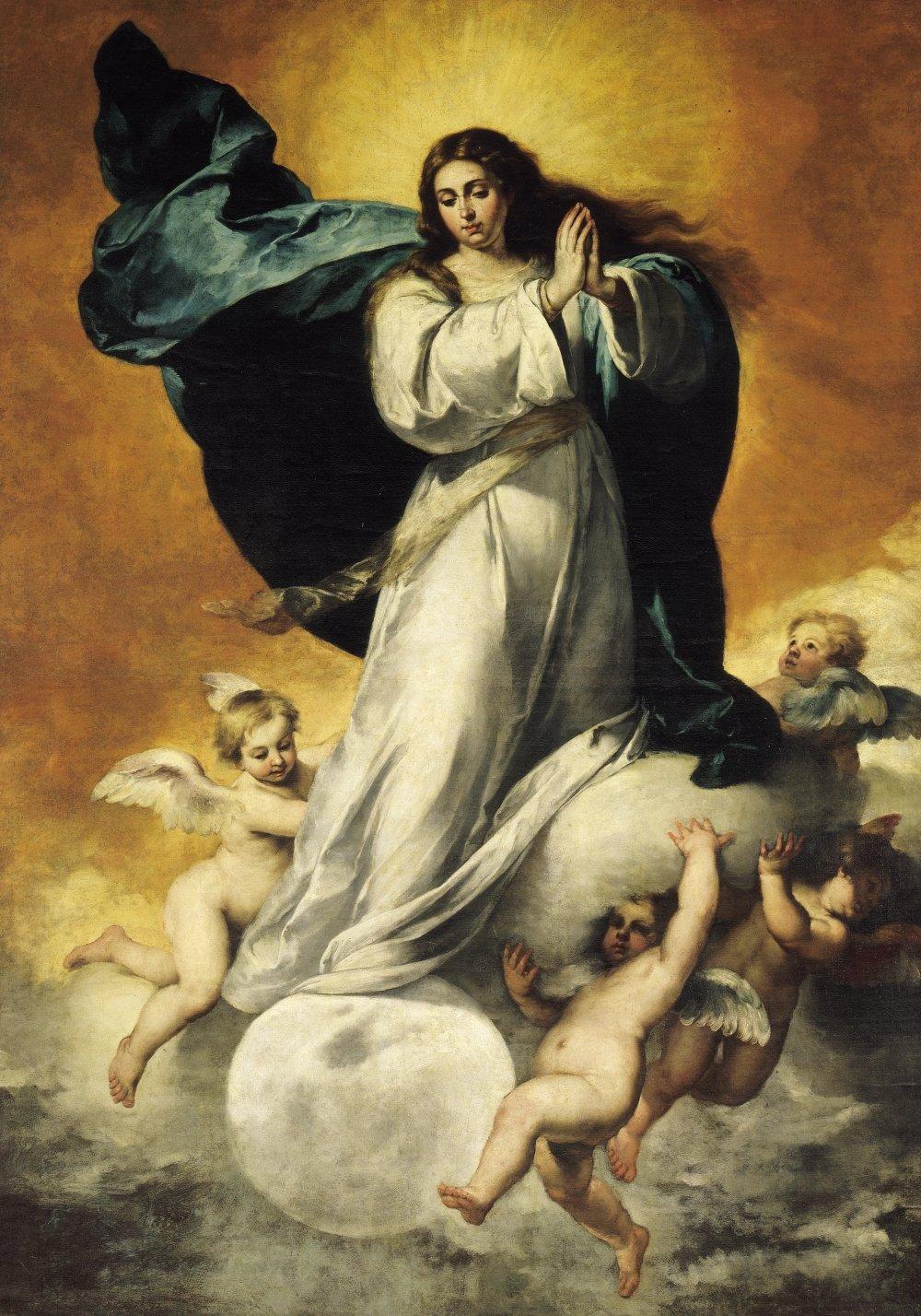 La asunción de la virgen se celebra el 15 de agosto.|Fuente: Wikimedia Commons
