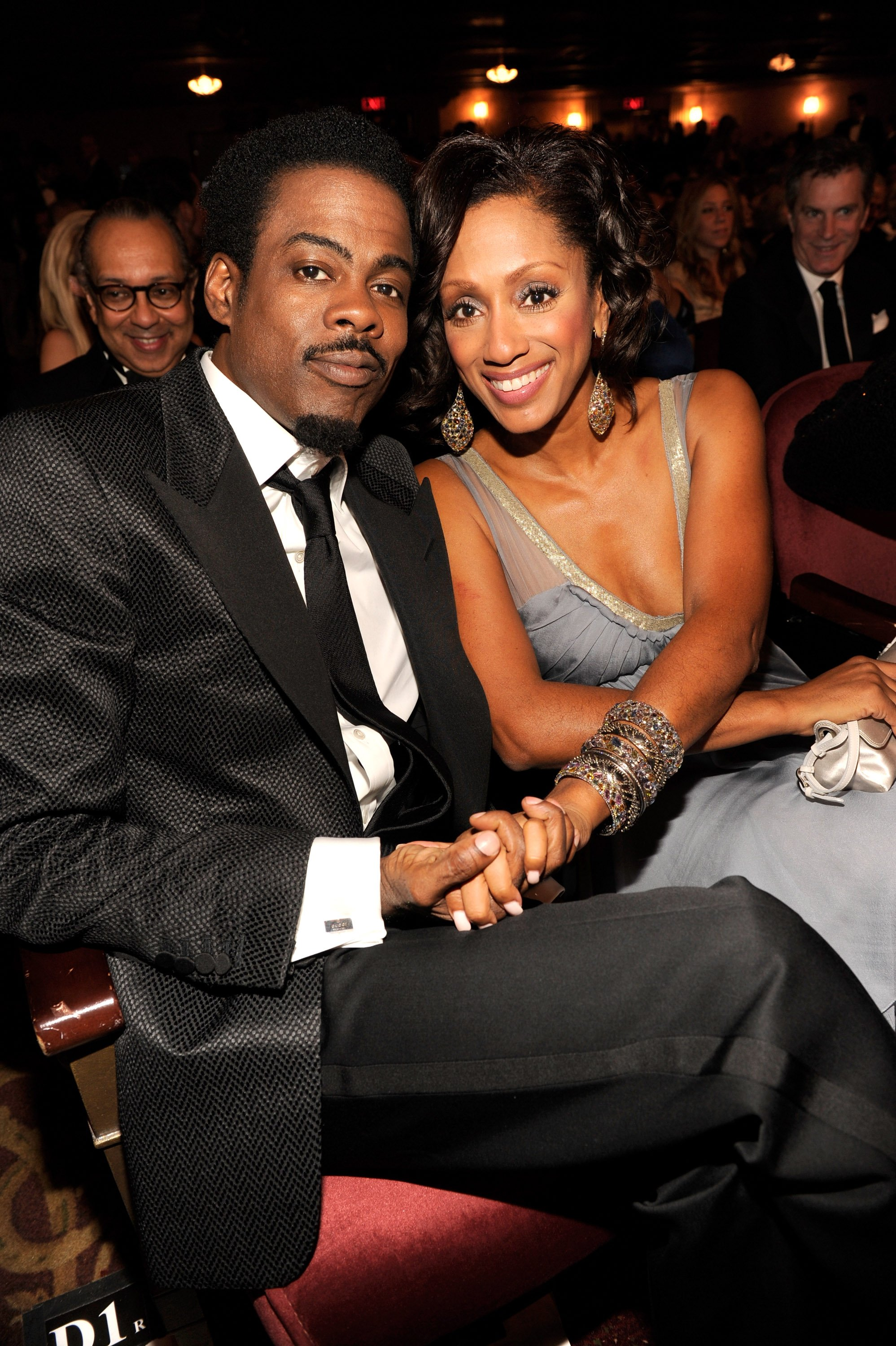 Chris Rock and Malaak Compton Rock attend the 65th Annual Tony Awards on June 12, 2011 in New York City.   Source: Getty Images