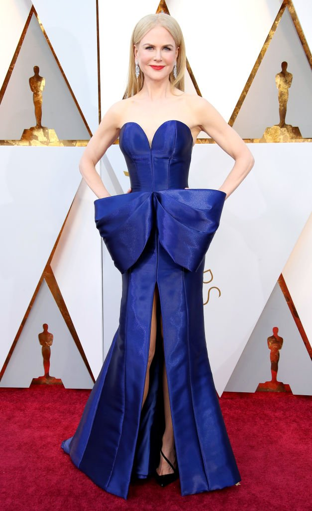 Nicole Kidman at the 90th Annual Academy Awards on March 4, 2018, in Hollywood | Source: Getty Images
