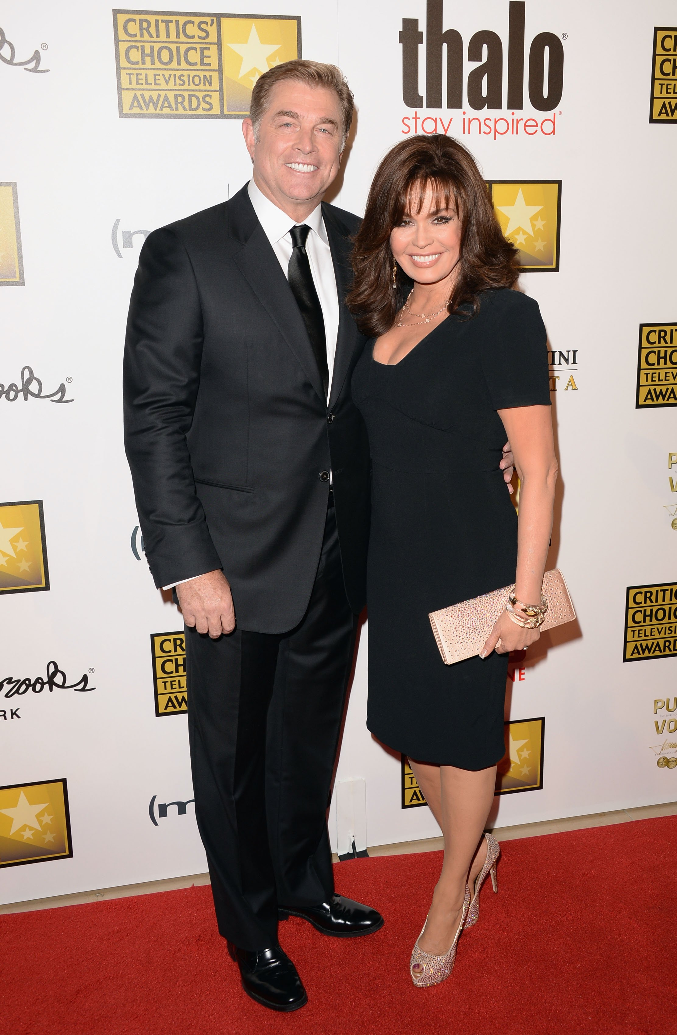 Steve Craig and Marie Osmond at the Critics' Choice Television Awards on June 10, 2013 | Photo: GettyImages