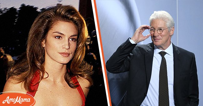 A picture of Cindy Crawford and Richard Gere | Photo: Getty Images