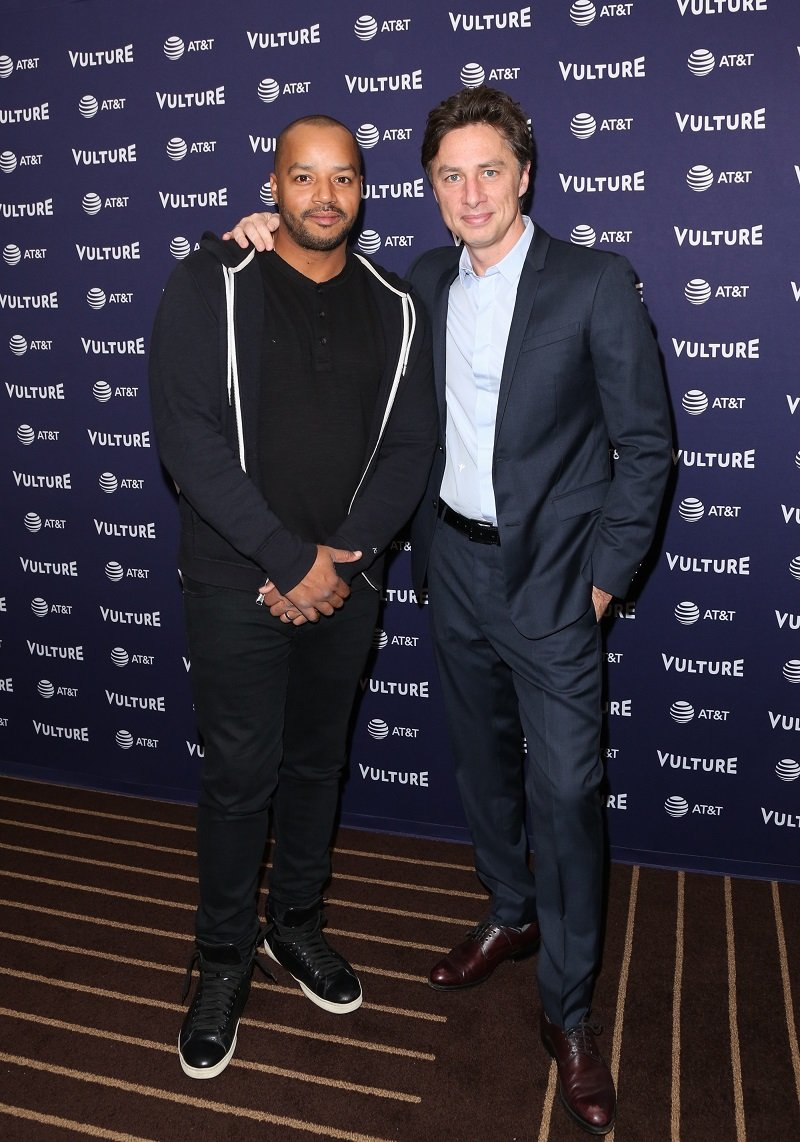 Donald Faison and Zach Braff on November 17, 2018 in Los Angeles, California | Photo: Getty Images