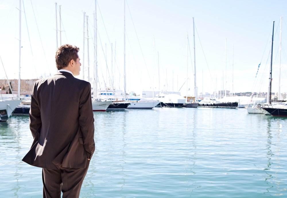 Moments before the businessman went on his boat cruise   Photo: Shutterstock