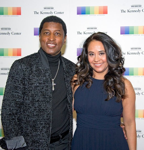 Kenneth  Edmonds and Nicole Edmonds arrive for the formal Artist's Dinner hosted by United States Secretary of State Rex Tillerson   Photo: Getty Images