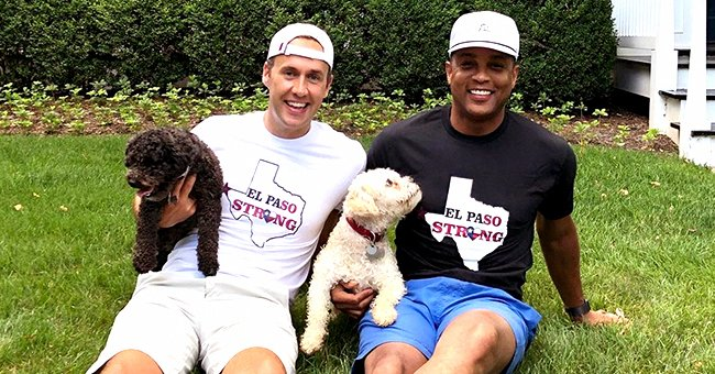 Don Lemon of CNN & Fiancé Tim Malone Spend Time With Their Dogs While Social Distancing at Home