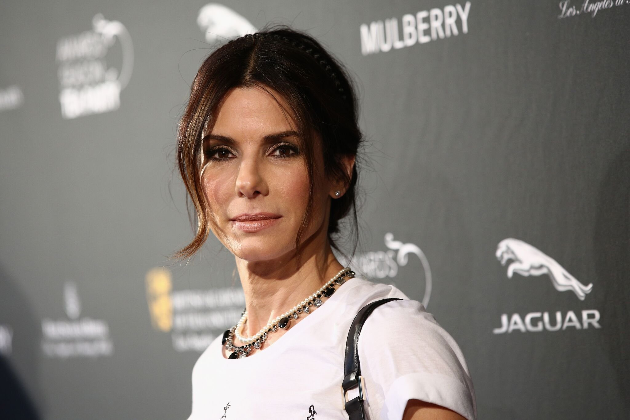 Actress Sandra Bullock attends the BAFTA LA 2014 Awards Season Tea Party at the Four Seasons Hotel Los Angeles at Beverly Hills | Photo: Getty Images