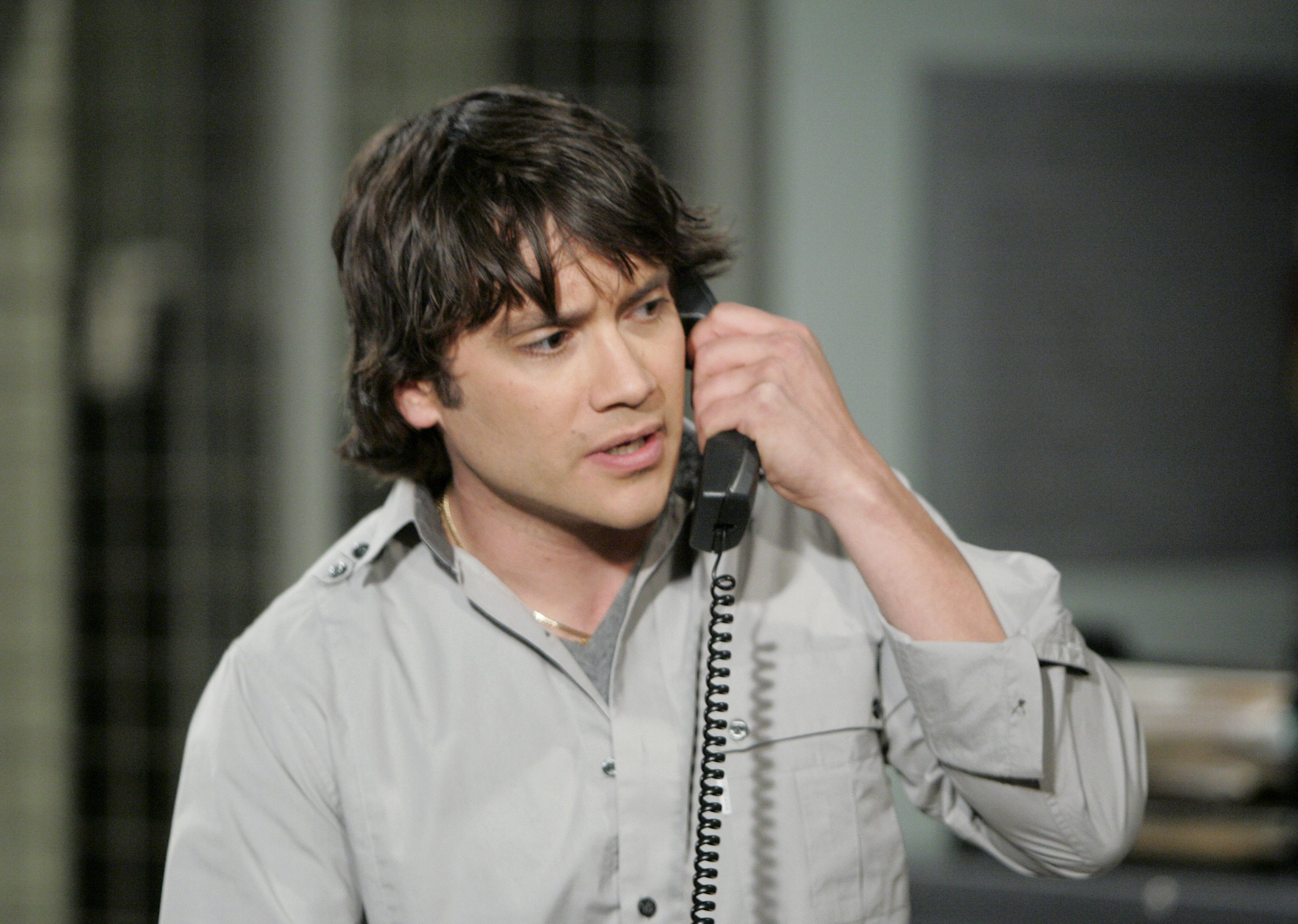 """Dominic Zamprogna in one scene from """"General Hospital."""" 