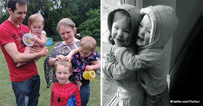 Une mère raconte comment sa fille de 3 ans a retrouvé sa jumelle sans vie