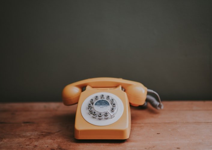 A photo of the phone on a table.   Photo: Unsplash.