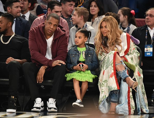 Jay Z con Blue Ivy. Fuente: Getty Images/Global Images Ukraine