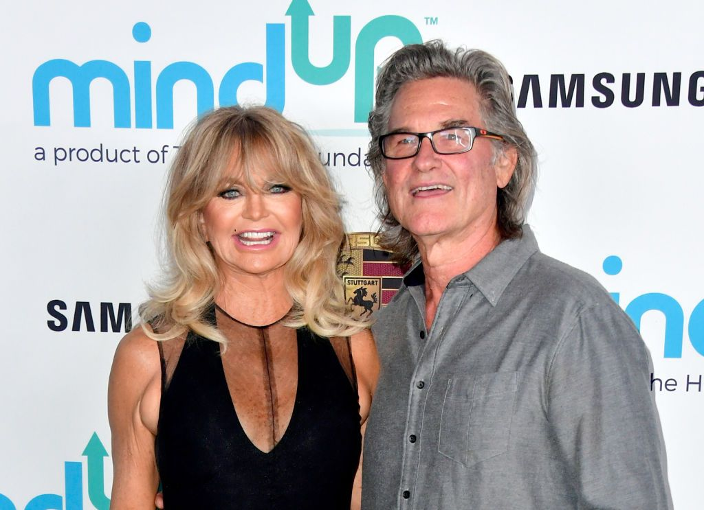 Goldie Hawn and Kurt Russell at Goldie's Love In For Kids at Ron Burkle's Green Acres Estate on November 3, 2017. | Source: Getty Images