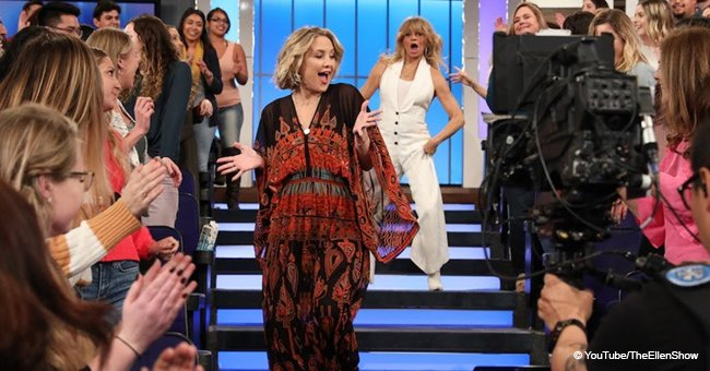Goldie Hawn's Dance with Kate Hudson Was so Exciting It Brought the Audience to Its Feet