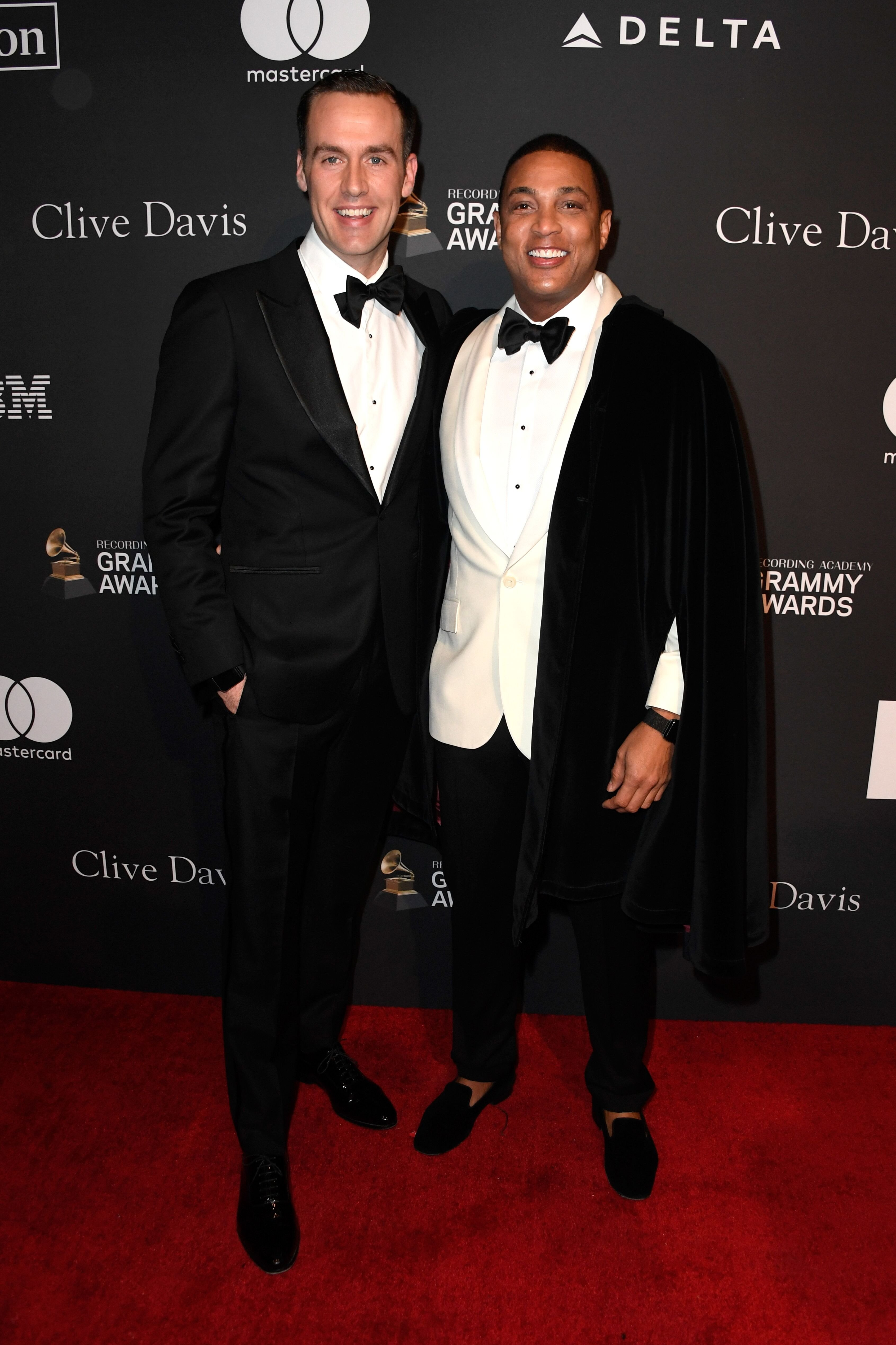 Tim Malone and Don Lemon attend the Pre-GRAMMY Gala and GRAMMY Salute to Industry Icons Honoring Clarence Avant at The Beverly Hilton Hotel on February 9, 2019 | Photo: Getty Images