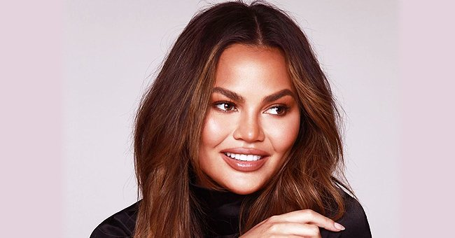 Chrissy Teigen and Her Kids Luna and Miles Do Spring Cleaning and Wear Costumes at Home