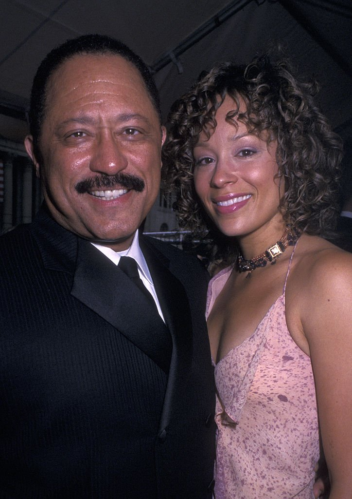 Judge Joe Brown and wife attend 29th Annual Daytime Emmy Awards on May 17, 2002.   Photo: Getty Images