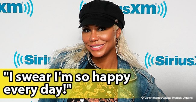 'Nothing about it is forced,' Tamar Braxton says she's happy after revealing she's dating a new man