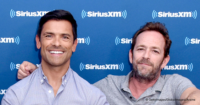 Mark Consuelos Shared His Feelings about Late Luke Perry Almost 2 Months after His Death