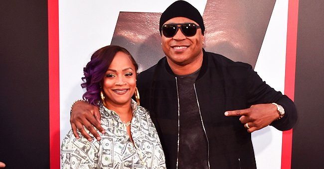 LL Cool J's Wife Simone Smith Stuns in Money-Printed Blouse & Knee-high Silver Boots in a New Pic