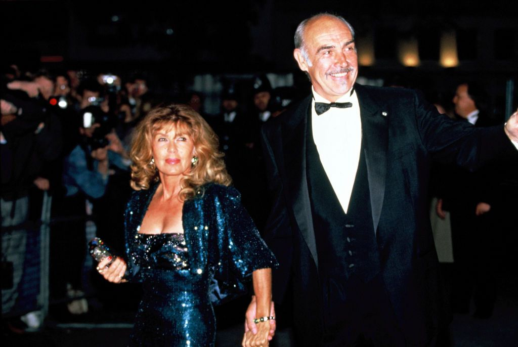 L'acteur Sean Connery et sa femme Micheline Roquebrune | Photo : Getty Images